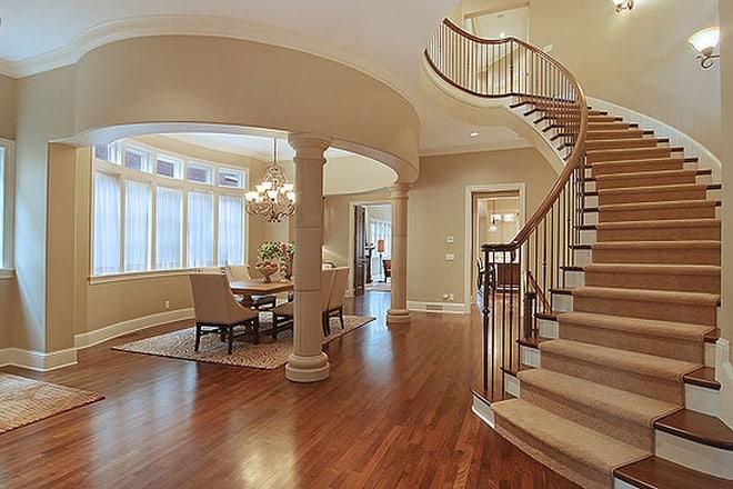 Cầu thang đẹp cho biệt thự