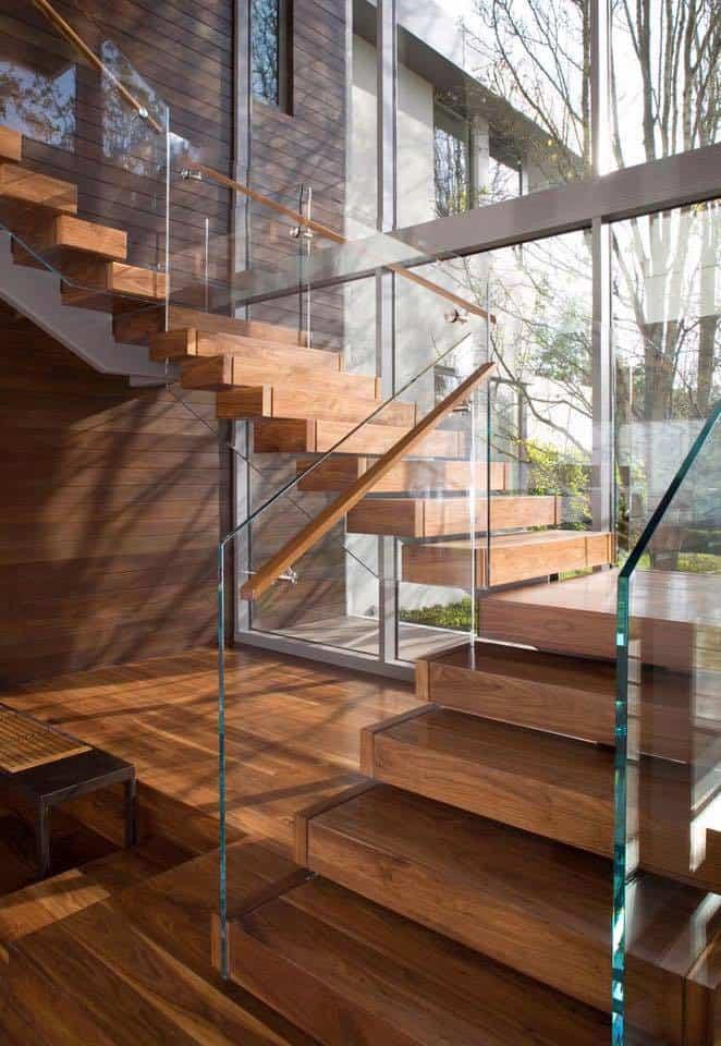 Cầu thang ngoài trời cho biệt thự