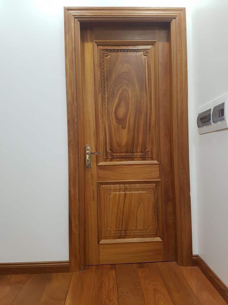 cửa gỗ 1 cánh phòng ngủ