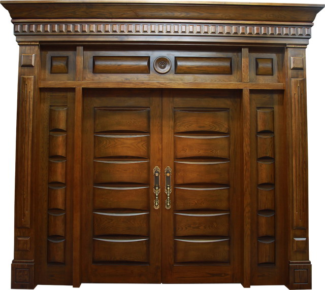 mẫu cửa gỗ 2 cánh đẹp