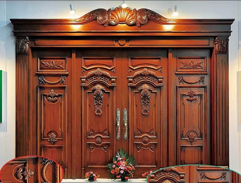 cửa gỗ biệt thự pháp