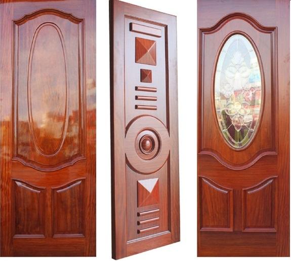 cửa gỗ tự nhiên sang trọng