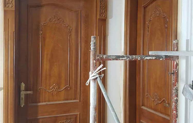 cửa gỗ đẹp phòng ngủ
