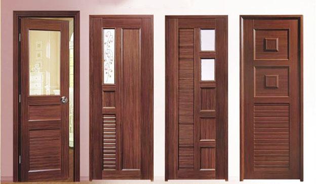 cửa gỗ tự nhiên pano kính