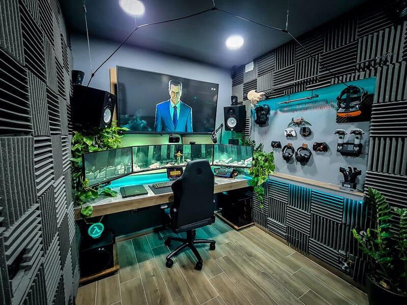 thiết kế phòng livestream game
