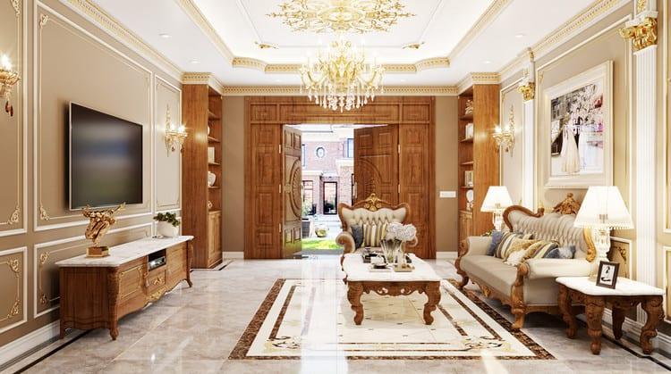 Họa tiết trang trí nội thất phong cách Pháp