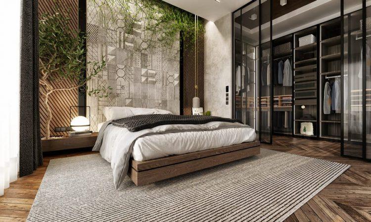 Nội thất phòng ngủ căn hộ đẹp