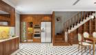 nội thất bếp gỗ tự nhiên