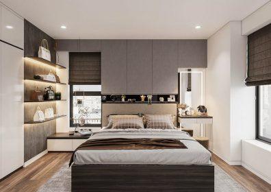 Căn hộ 2 phòng ngủ - Phòng ngủ Master
