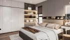 Phòng ngủ Master căn hộ 2 phòng ngủ
