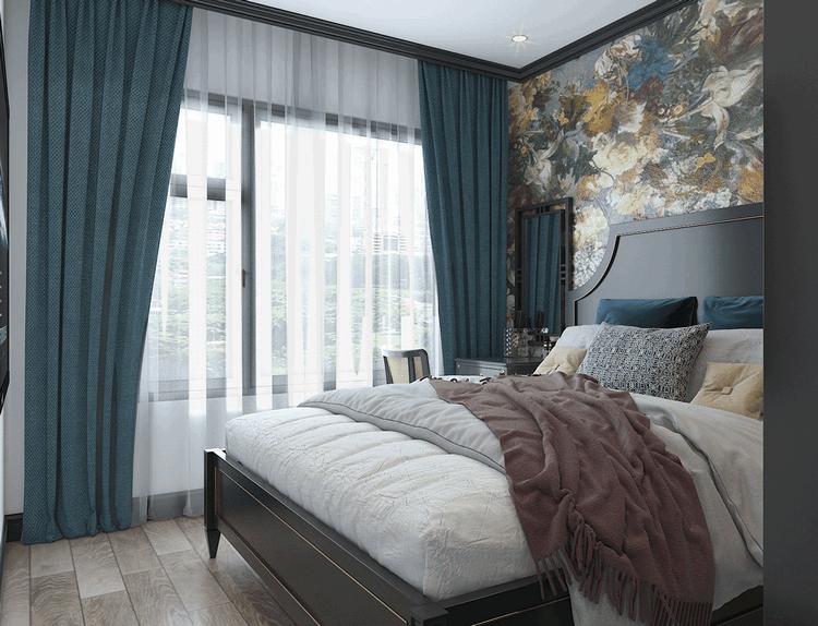 Nội thất phòng ngủ phong cách đông dương