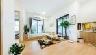 Mẫu căn hộ phong cách Nhật Bản - phòng khách