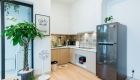 Mẫu căn hộ phong cách Nhật Bản - bếp