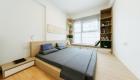 Mẫu căn hộ đẹp phong cách Nhật Bản - phòng ngủ