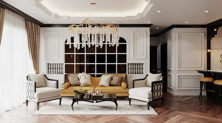 Thiết kế căn hộ đẹp - phong cách đông dương
