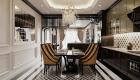 Thiết kế căn hộ đẹp đông dương - bàn ăn