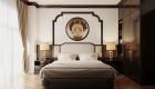 Thiết kế căn hộ đẹp đông dương - phòng ngủ 3