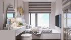 Phòng ngủ tân cổ điển căn hộ 70m2