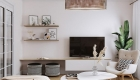 Thiết kế nội thất chung cư Scandinavian - phòng khách