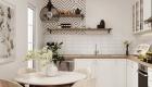 Thiết kế nội thất chung cư Scandinavian - phòng bếp