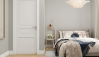 Thiết kế nội thất chung cư Scandinavian - phòng ngủ