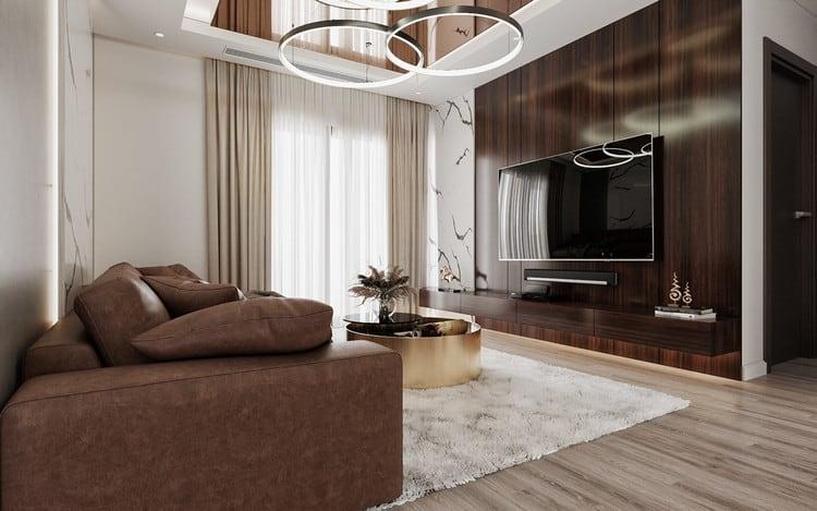 Nội thất căn hộ chung cư cao cấp - phòng khách