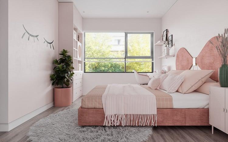 Nội thất căn hộ cao cấp - phòng ngủ cho bé