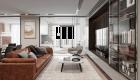 Thiết kế nội thất căn hộ hiện đại - phòng khách
