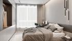 Thiết kế nội thất căn hộ hiện đại - phòng ngủ Master