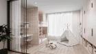 Thiết kế nội thất căn hộ hiện đại - Phòng ngủ cho bé