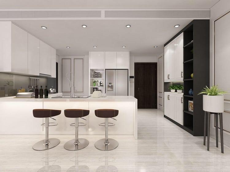 Không gian bếp sang trọng và tinh tế