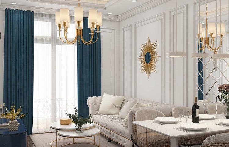 Thiết kế nội thất căn hộ tân cổ điển