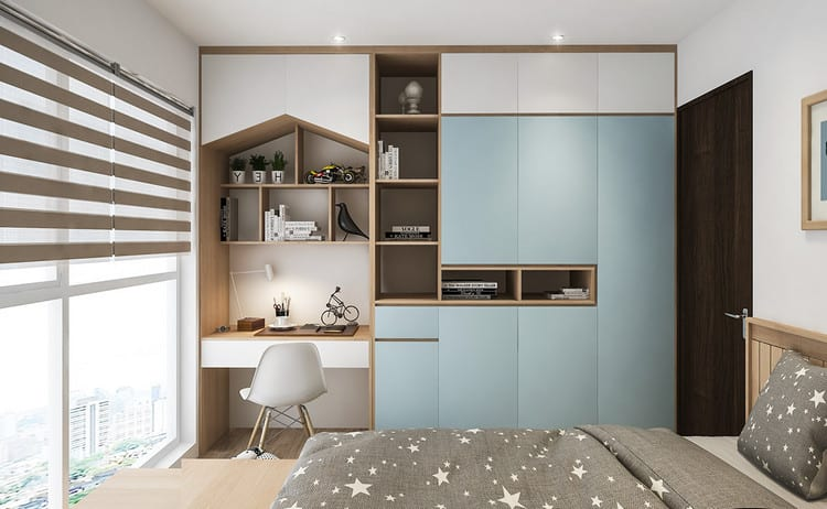 Thiết kế nội thất căn hộ chung cư 3 phòng ngủ đẹp