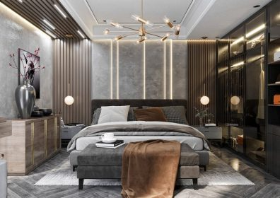 Thiết kế phòng ngủ chung cư sang trọng