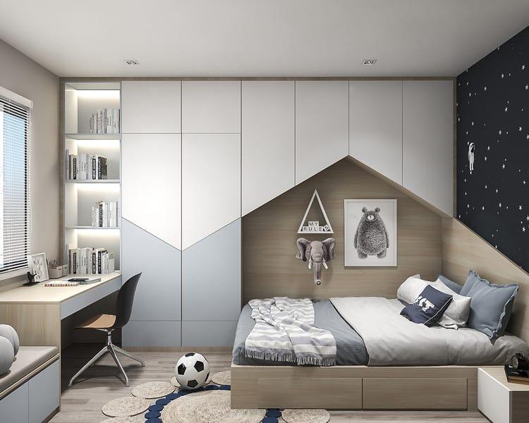 Phòng ngủ cho bé hiện đại