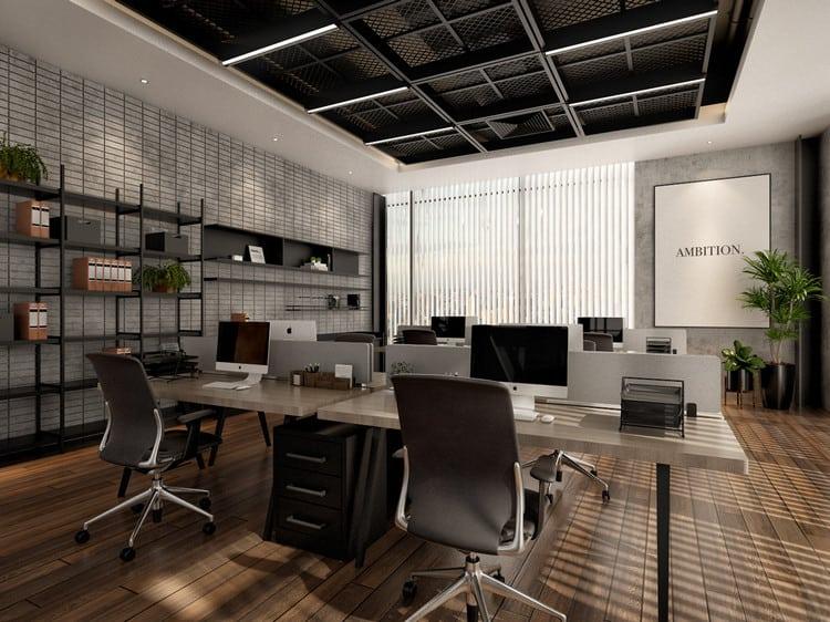 Mẫu văn phòng đơn giản, chuyên nghiệp