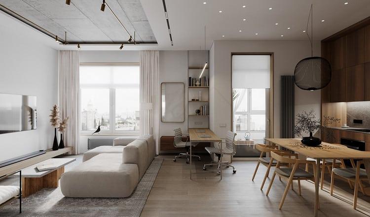 Thiết kế nội thất hiện đại và sáng tạo