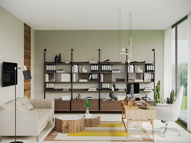 Phòng làm việc xanh tại nhà