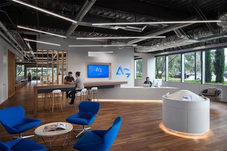 Thiết kế sảnh kết hợp không gian làm việc