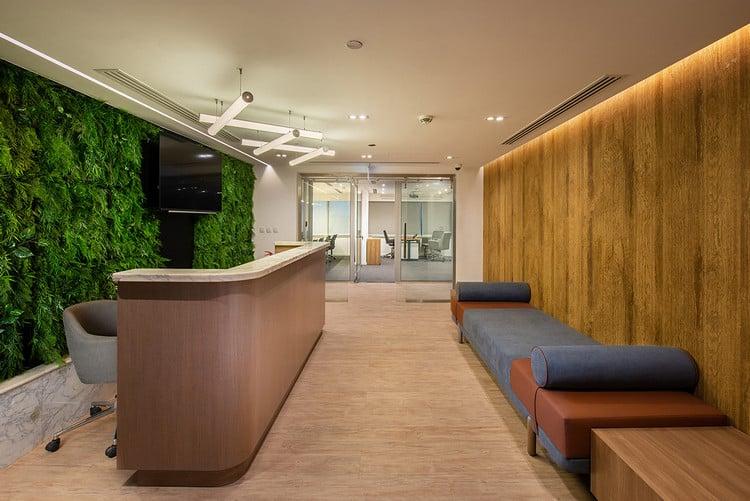 Mảng xanh ngày càng được chú trọng cho không gian văn phòng