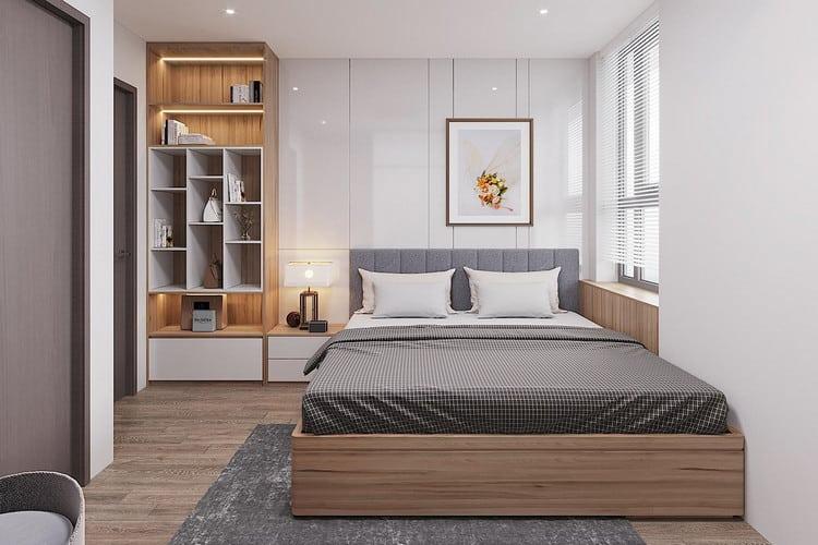 Nội thất phòng ngủ chung cư 70m2
