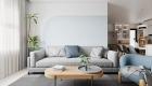 Thiết kế nội thất chung cư tối giản - phòng khách