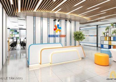 văn phòng Hương Việt Group - tòa nhà sông Đà - Phạm Hùng - Hà Nội