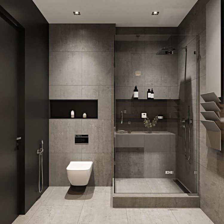 Phòng tắm phụ trong biệt thự