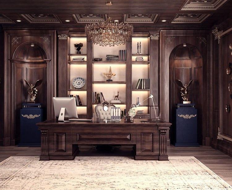 thiết kế nội thất phòng tổng giám đốc