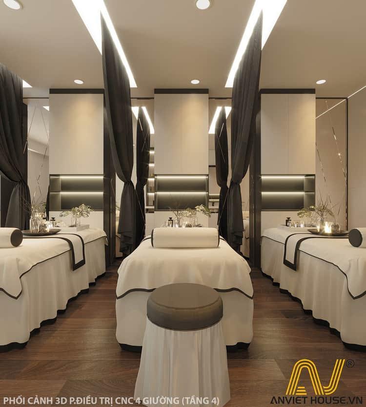 thiết kế phòng spa