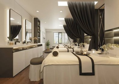 Anviethouse thiết kế nội thất spa