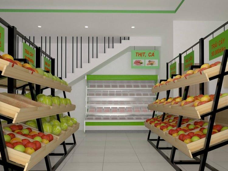 Cửa hàng nhỏ được bố trí khoa học