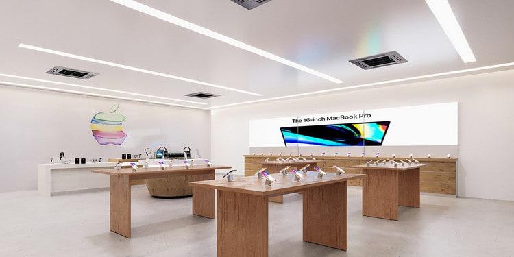 Cửa hàng sản phẩm của apple