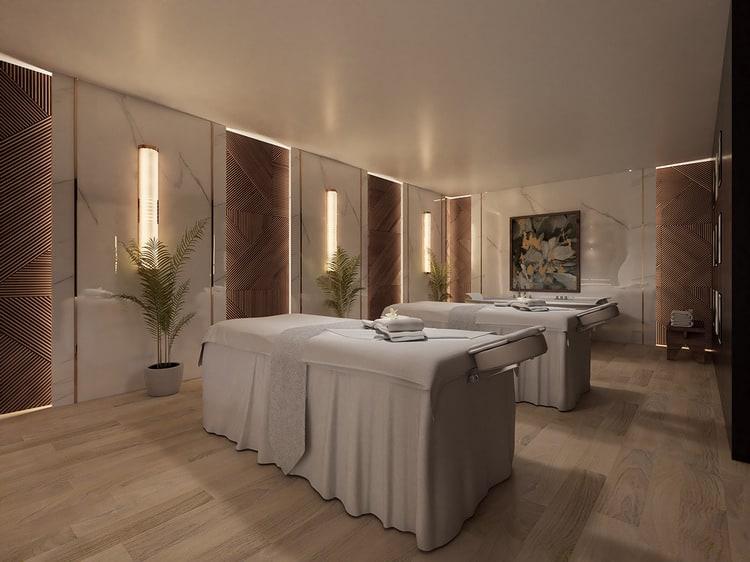 Mẫu phòng spa đẹp